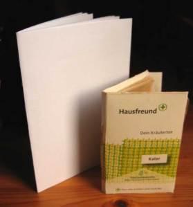 En el segon i tercer llibre vam practicar la costura de pamflet