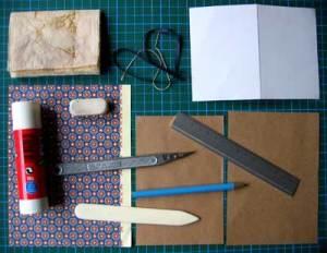 Les peces d'una llibreta